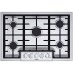 Bosch-NGM8055UC-800-30-Stainless-Steel-Gas-Sealed-Burner-Cooktop-0