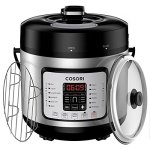 COSORI-7-in-1-Multifunctional-Programmable-Pressure-Cooker-Rice-Cooker-Slow-Cooker-with-Glass-Lid-Extra-Sealing-Ring-and-Recipe-Book-6-Quart1000W-0