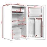 Costway-Min-Refrigerator-Small-Freezer-Cooler-Fridge32-Cu-Ft-Unit-Stainless-SteelWhite-0-2