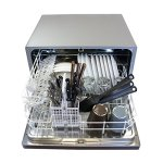 Countertop-Dishwasher-Premium-Portable-Stainless-Steel-Electric-Table-Top-Machine-in-Stand-Alone-Silver-Compact-with-Delay-Start-Design-0-1