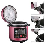 Crenova-CR-38A-7-in-1-Multi-Use-Programmable-Electric-Pressure-Cooker-Multi-functional-6-Qt-Digital-Pressure-Cooker-Stainless-Steel-0-1