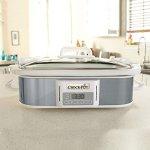 Crock-pot-SCCPCCP350-SS-Programmable-Digital-Casserole-Crock-Slow-Cooker-35-quart-Stainless-Steel-0-0