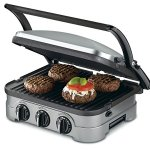 Cuisinart-GRID-8NFR-5-in-1-Griddle-Contact-Counter-top-Grill-Panini-Press-Griddle-Certified-Refurbished-Silver-0