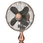 DecoBREEZE-10-Inch-Vintage-Metal-Table-Fan-Portable-Oscillating-Fan-Brushed-Copper-0-0