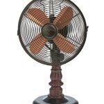 DecoBREEZE-Kipling-10-Inch-Table-Fan-Portable-Oscillating-Fan-Brown-Copper-0