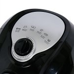 Della-Electric-Air-Fryer-w-Temperature-Control-Detachable-Basket-Carry-Handle-1500W-0-2