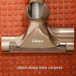 Dibea-F6-Lightweight-Handheld-Cordless-Stick-Vacuum-Cleaner-2-in-1-for-Pet-Hair-Hard-Floor-Purple-0-2