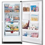 Frigidaire-FFFH21F4QT-34-Upright-Freezer-with-205-Cu-Ft-Capacity-Bright-Lighting-Lock-With-Pop-Out-Key-Defrost-Water-Drain-and-Adjustable-Temperature-Control-in-Classic-0-1