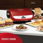 George-Foreman-GRP4842RB-Multi-Plate-Evolve-Grill-Panini-Press-Grilling-and-Waffle-Plates-IncludedRed-0-2
