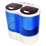 Giantex-Portable-Mini-Washing-Machine-Gravity-Drain-Compact-Twin-Tub-77lb-Washer-Spin-Dryer-Furni-0-1