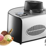 Gourmia-GSI200-Automatic-Ice-Cream-Maker-Stainless-Steel-16-Qt-Gelato-Sorbet-and-Frozen-Yogurt-Machine-Built-in-Compressor-and-LCD-Digital-Display-Includes-Free-Recipe-Book–110120V-0