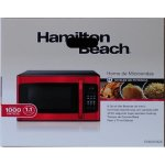 Hamilton-Beach-11-cu-ft-10-power-levels-LED-display-1000W-Microwave-oven-Red10-power-levels-6-quick-set-menu-buttons-Red-0-1