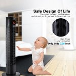 Homdox-5112-Quiet-tower-Fan-Cooling-Oscillating-Fan-3-Modes-Remote-Control-0-1