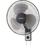 Home-16-Wall-Mount-Fan-3-Speed-Rotary-Knob-Or-Pull-Cord-Control-Sturdy-Metal-Frame-Black-0-0