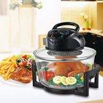Hometech-12-Quart-1200W-Halogen-Cooking-Convection-Countertop-Oven-0