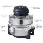 Hometech-12-Quart-Halogen-Tabletop-Countertop-Convection-Oven-w-Extender-Ring-0-0