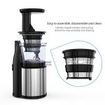 Homgeek-Masticating-Juicer-Extractor-Slow-Juicer-MachineCold-Press-Juicer-with-Juice-Jug-and-Cleaning-Brush-for-High-Nutritional-Fruit-and-Vegetable-Juice-0-2