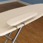 Household-Essentials-971840-1-Wide-Top-4-Leg-Mega-Ironing-Board-with-Adjustable-Height-and-Bonus-Sleeve-Board-Natural-Cotton-Cover-0-1
