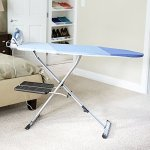 Household-Essentials-975418-1-Fold-Away-Space-Saver-Wide-Top-Ironing-Board-with-Iron-Holder-Blue-0-0
