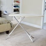 Household-Essentials-Mega-Top-4-Leg-Aluminum-Ironing-Board-with-Natural-Cotton-Cover-0-0