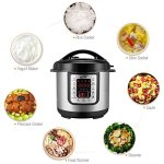 Housmile-6-Quart-7-in-1-Multi-Use-Programmable-Electric-Pressure-Cooker-Digital-Non-Stick-Stainless-Steel-Steam-Slow-Cooker-1000W-0-2