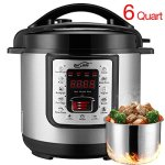 Housmile-6-Quart-7-in-1-Multi-Use-Programmable-Electric-Pressure-Cooker-Digital-Non-Stick-Stainless-Steel-Steam-Slow-Cooker-1000W-0