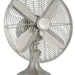 Hunter-90400-12-Metal-Fan-Brushed-Nickel-Finish-Table-Fan-Portable-Fan-0-1