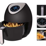 Ivation-Electric-Air-Fryer-with-Digital-LED-Touch-Display-Featuring-7-Cooking-Presets-Menu-Timer-and-Temperature-Control-for-Healthy-Low-Fat-Air-Frying-with-Little-to-No-Oil-34-QT-1400W–Black-0-0