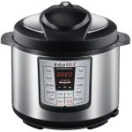 Latest-Model-Instant-Pot-Ip-lux60-enw-Stainless-Steel-6-in-1-Pressure-Cooker-with-Mini-Mitts-0-0