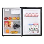 Midea-WHS-87LSS1-Compact-Single-Reversible-Door-Refrigerator-24-Cubic-Feet-Stainless-Steel-0