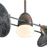 Minka-Aire-F602-RRB-Gyro-Restoration-Bronze-Dual-42-Ceiling-Fan-with-Light-Wall-Control-0