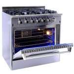 NXR-Elite-Stainless-Steel-36-Gas-Range-with-Convection-Oven-0-0