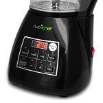 NutriChef-PKSM240BK-3-in-1-Digital-Electronic-Soup-Cooker-Blender-Juice-Drink-Maker-Black-0-1