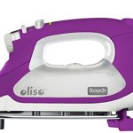 Oliso-Smart-Iron-Steam-Iron-with-iTouch-Self-Lifting-Technology-Features-Auto-Shut-Off-and-Multiple-Steam-Iron-Options-Extra-Long-108-Cord-Beadblast-Chromium-Soleplate-Purple-0