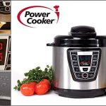 Power-Cooker-PC-WAL1-Pro-Digital-Electric-Pressure-Cooker-Canner-6-Quart-Black-Stainless-Steel-Certified-Refurbished-0-1