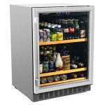 Smith-Hanks-BEV145SRE-178-Can-Capacity-Single-Zone-Under-Counter-Beverage-Refrigerator-24-Inch-Width-Built-In-or-Free-Standing-0-0