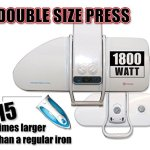 Speedy-Press-Digital-Ironing-Steam-Press-Including-Extra-CoverFoam-38-Powerful-Jets-of-Steam-100lbs-of-Pressure-0-0