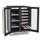 Titan-24-Inch-Built-In-French-Door-Wine-and-Beverage-Refrigerator-0-2