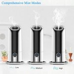 Updated-Version-5-Liter-Ultrasonic-Digital-Cool-Mist-Humidifier-with-Remote-Control-YCFlying-3-Mist-Level-Control-Automatic-Shut-off-Nightlight-LCD-Display-Whisper-Quiet-for-Home-Office-Baby-0-1