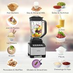 VAVA-Smoothie-Blender-1200W-Professional-Blender-for-Shakes-and-Smoothies-with-20oz-Personal-Blender-Cup-10-in-1-Countertop-Blenders-Juicer-MakerFDA-Approved-0-0