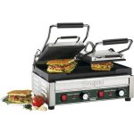 Waring-Commercial-WPG300-Panini-Tostato-Ottimo-Dual-Italian-Style-grooved-Grills-240-volt-0-1