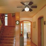 Westinghouse-78108-Petite-Reversible-3-Speed-Hugger-Six-Blade-Indoor-Ceiling-Fan-with-Light-30-Inch-White-0-1