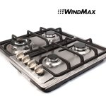 WindMax-23-Stainless-Steel-4-Burner-Stove-Gas-Hob-Cooktops-11259Btu-3300W-Cooker-0-0