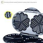 ZZ-WF330-10-in-1-Heart-Waffle-Maker-with-Non-Stick-Plate-1200W-BlackSilver-0-1