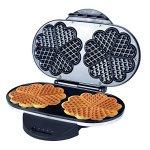 ZZ-WF330-10-in-1-Heart-Waffle-Maker-with-Non-Stick-Plate-1200W-BlackSilver-0