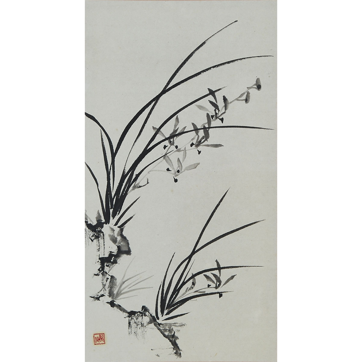 Lot 15 - Attributed to Soong Ai-ling 宋藹齡 (1888-1973), Three Paintings of Flowers