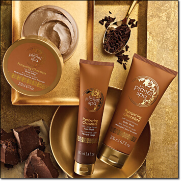 Image result for planet Spa pampering chocolate
