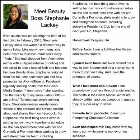 Meet Your Online Avon Representative | Online Beauty Boss