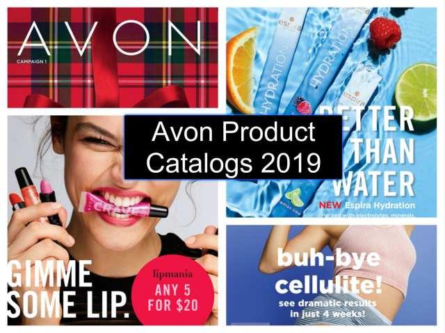 Avon Product Catalogs 2019