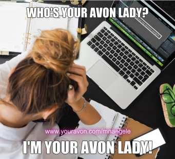 avon representative monica naegele